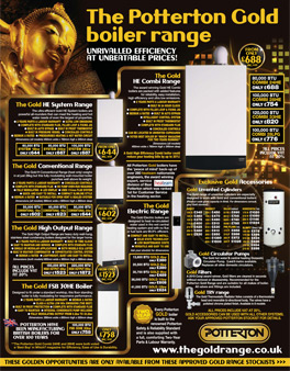 Potterton Gold Advert